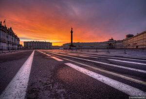 Дворцовая площадь...