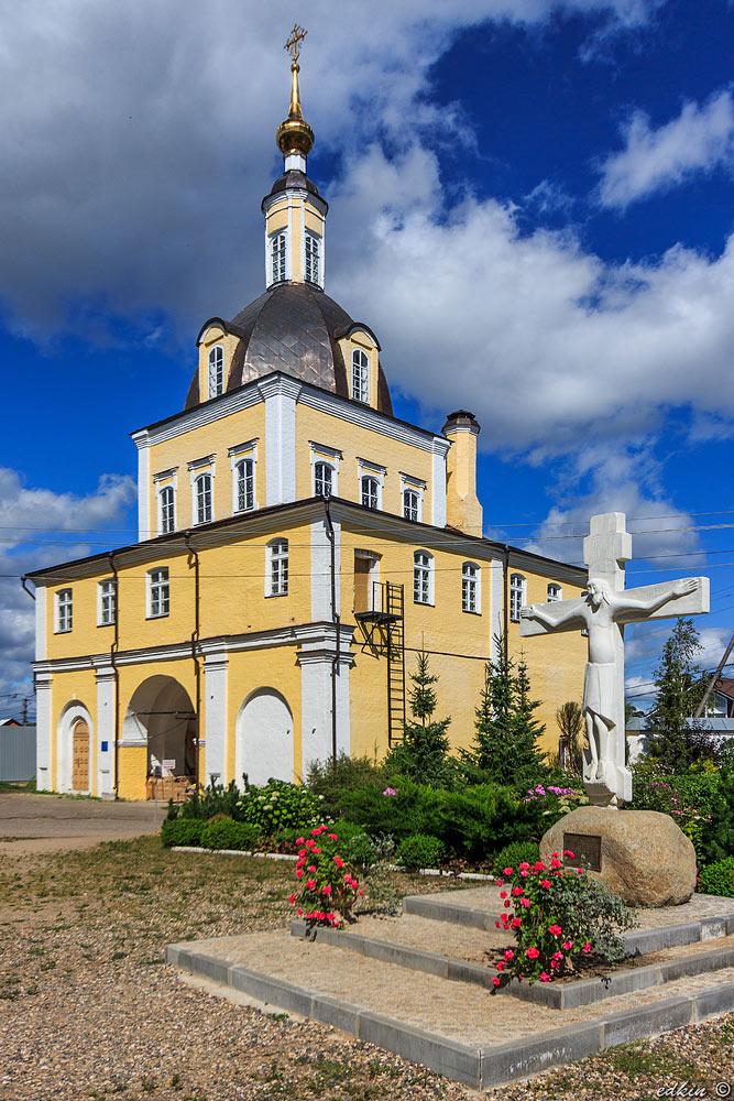 Переславль-Залесский, Никольский женский монастырь, Петропавловская церковь