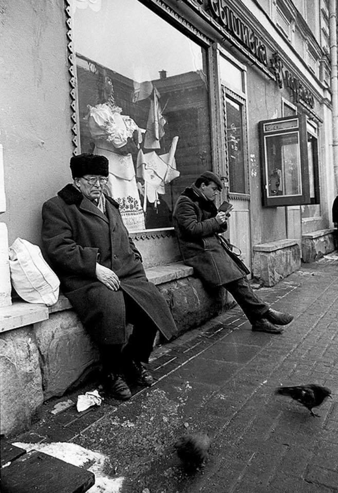 Арбат. 1980-е гг. И. Стомахин.