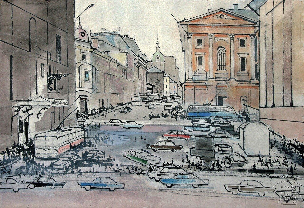 Алфеевский Валерий Сергеевич (1906-1989) На московских улицах.jpg