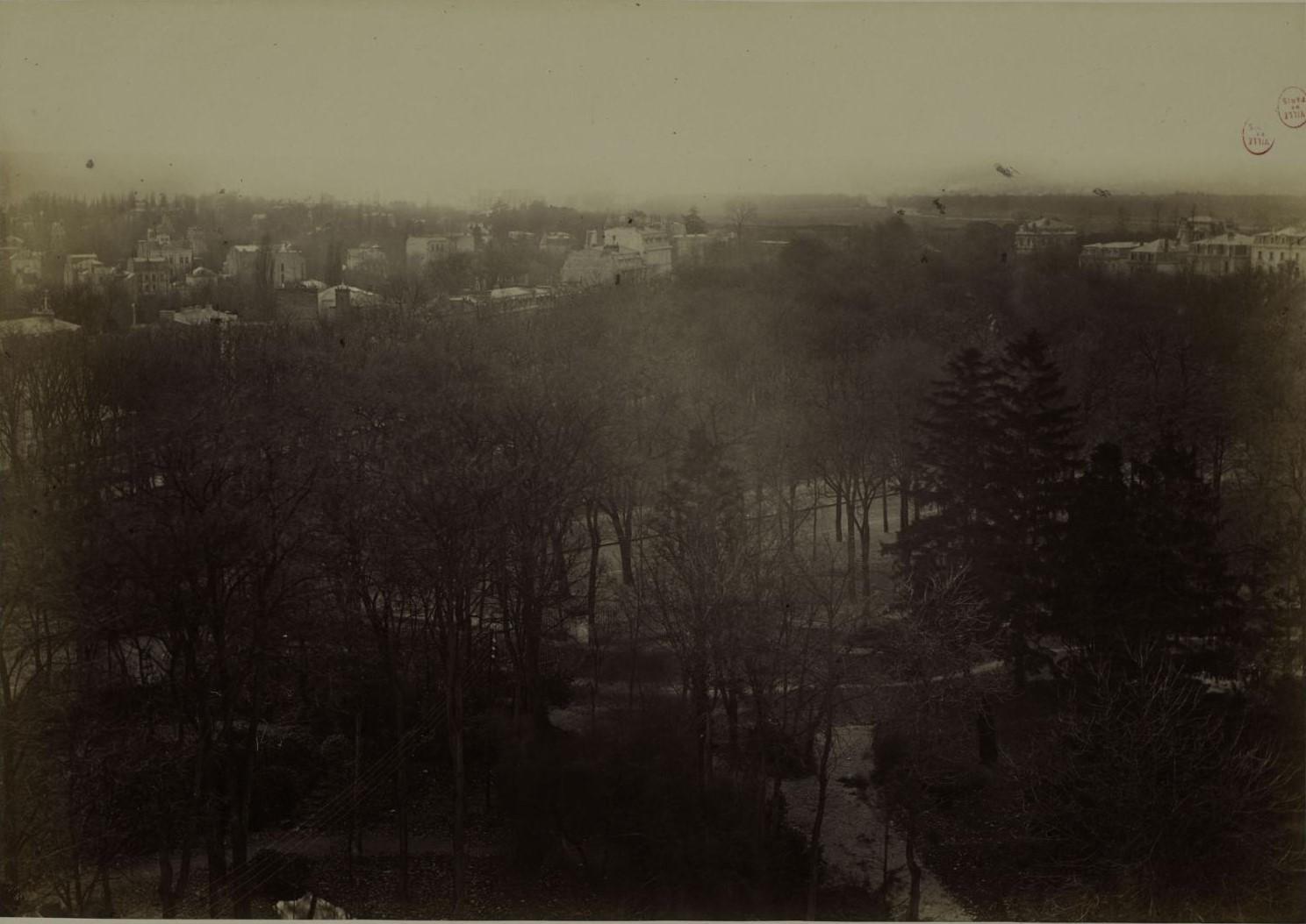 Снимки из Шато де ла Мюетт, XVI округ, 24 - 26 ноября. Городской пейзаж. Направление: Улица Ранелаг, парк Бримборион, Севр, парк Сен-Клу, Гарш