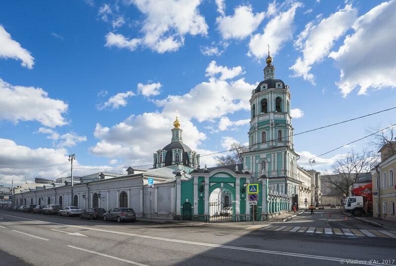Храм святителя Николая в Заяицком