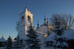 Церковь Николая Чудотворца в рождественском убранстве