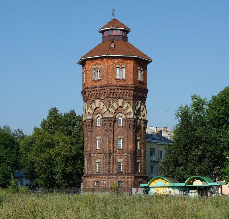 водонапорная башня, 1890