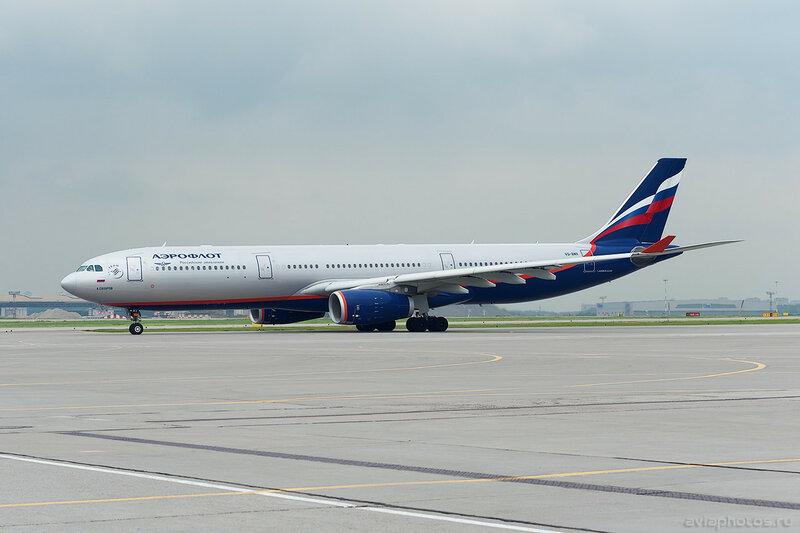 Airbus A330-343 (VQ-BMX) Аэрофлот 121_D702729