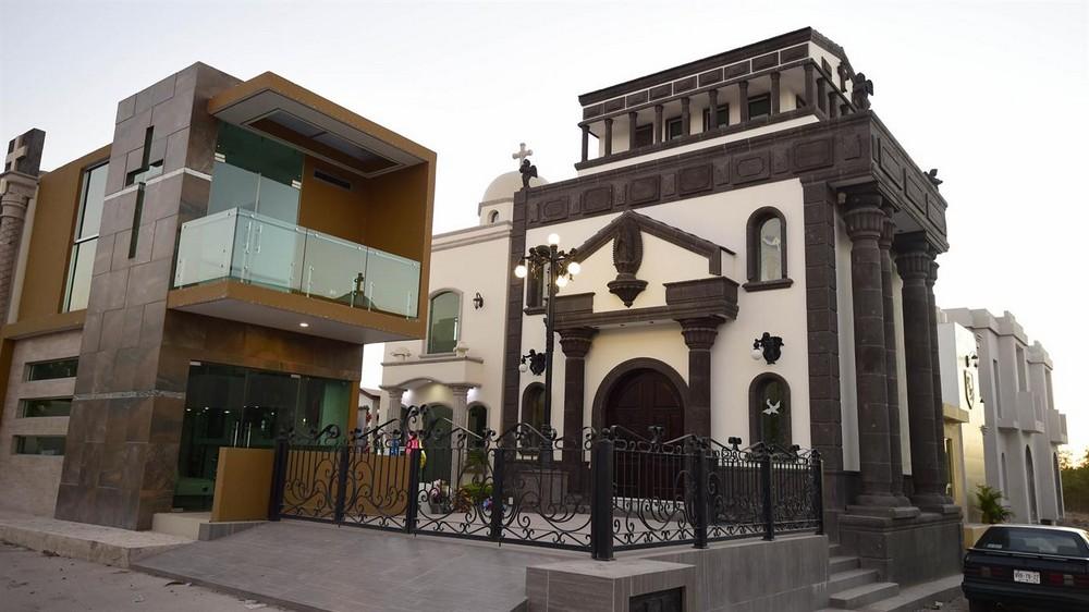 Крутые мавзолеи мексиканских наркобаронов