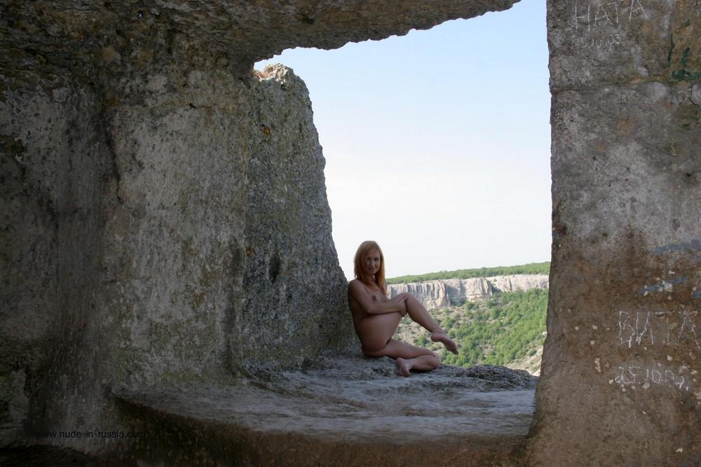 Голая Рита в Чуфут-Кале