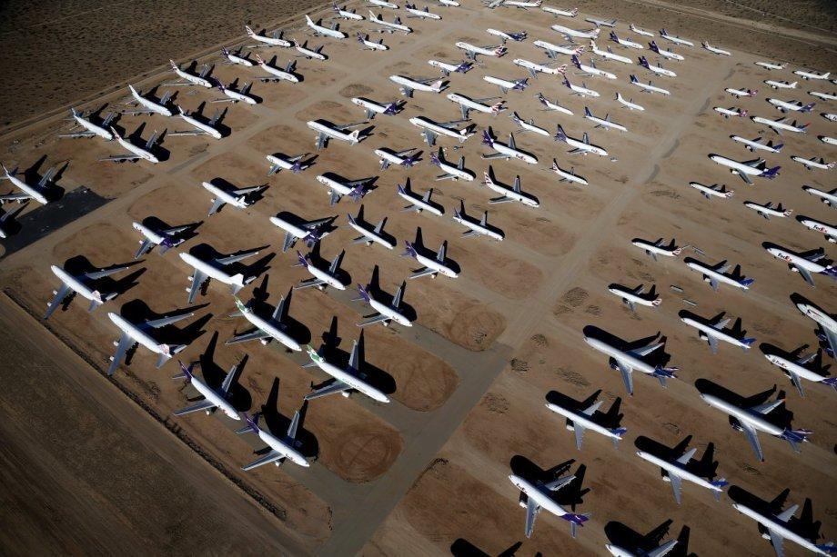 «Двор костей», где умирают аэробусы