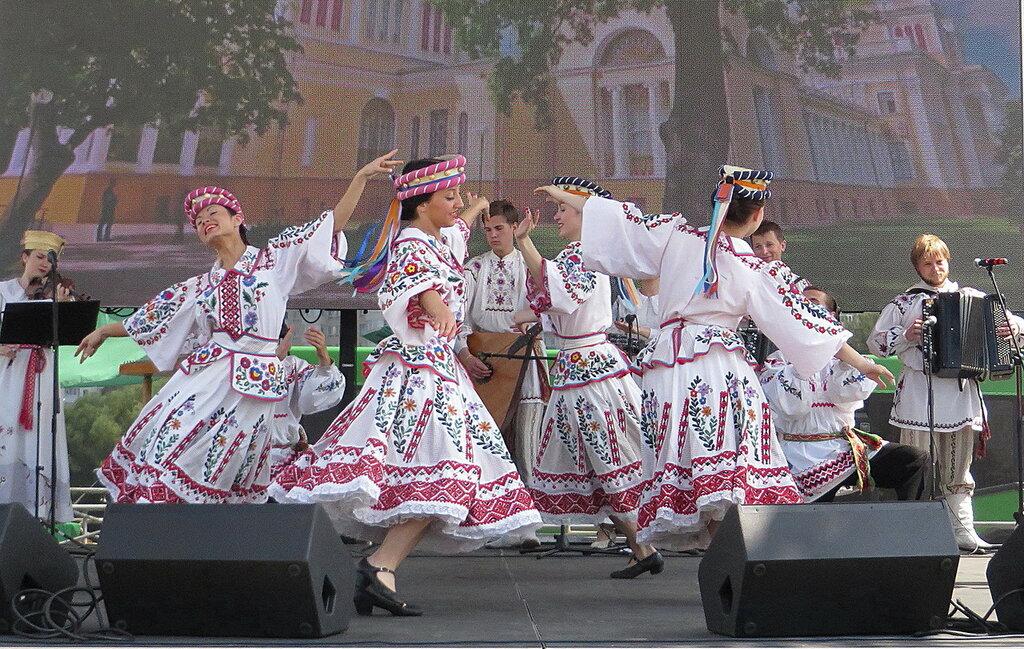 Белорусский танец!