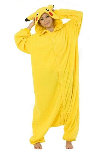 Женский карнавальный костюм Кигуруми Пикачу