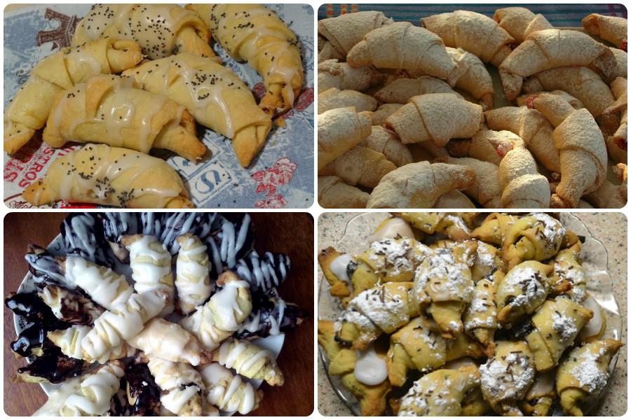 Печенье Рулетики с маком и медом-оформление верха печенья
