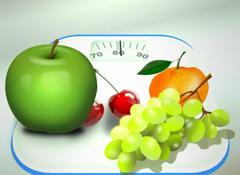 2 июня День здорового питания. Фрукты на весах