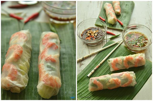 Весенние роллы - Вьетнамская кухня