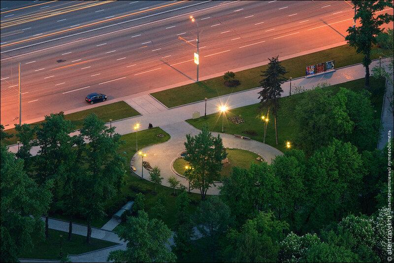Сквер на Кутузовском проспекте