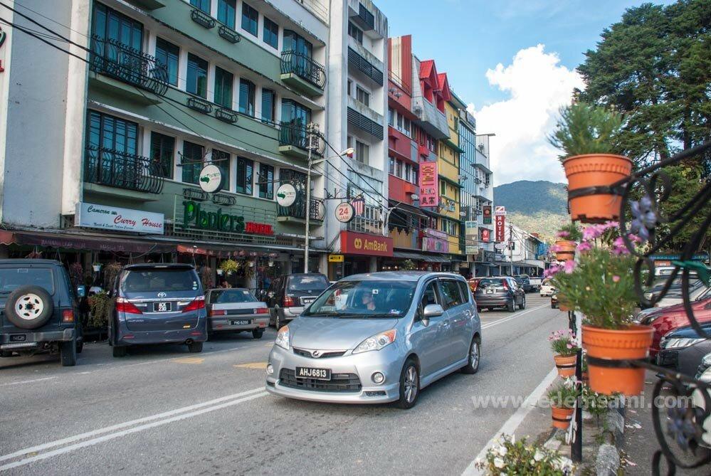 Тана-Рата нагорье Камерон Малайзия