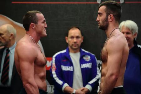 Российский боксер Трояновский проиграл два чемпионских пояса за40 секунд