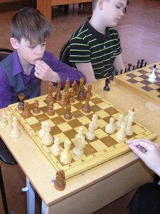Шахматный турнир в лицее