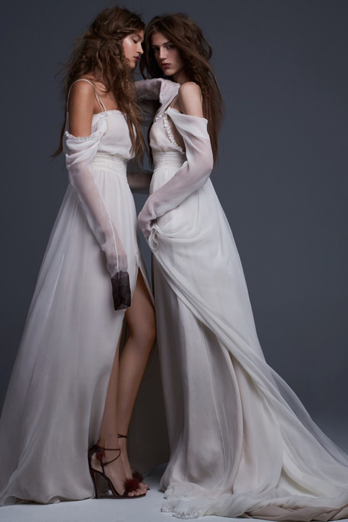 Рекламная кампания Vera Wang Bridal 2017