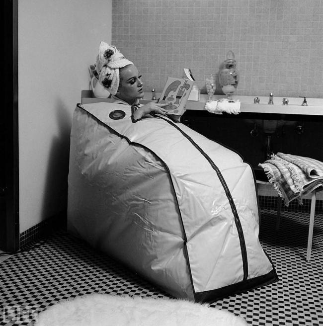 © zamantika   Тренажер для «скатывания жира» сног, 1936 год