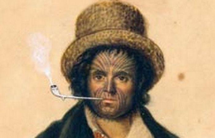 Принудительные татуировки Джона Резерфорда. Великобритания Джон Резерфорд стал известен в 1800-х год