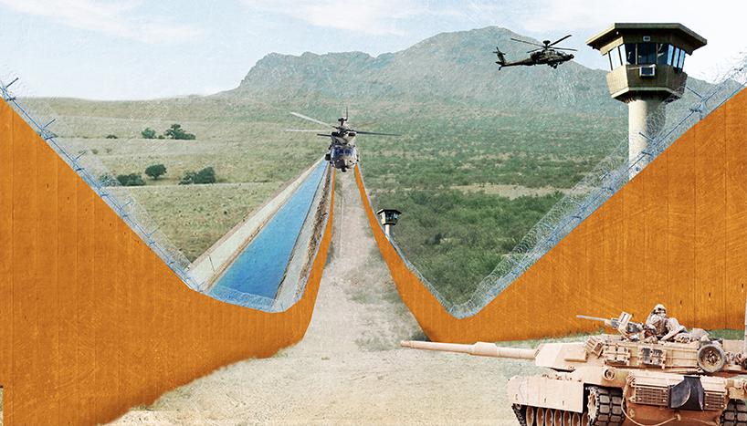 Последствия после возведения стены на мексиканской границе