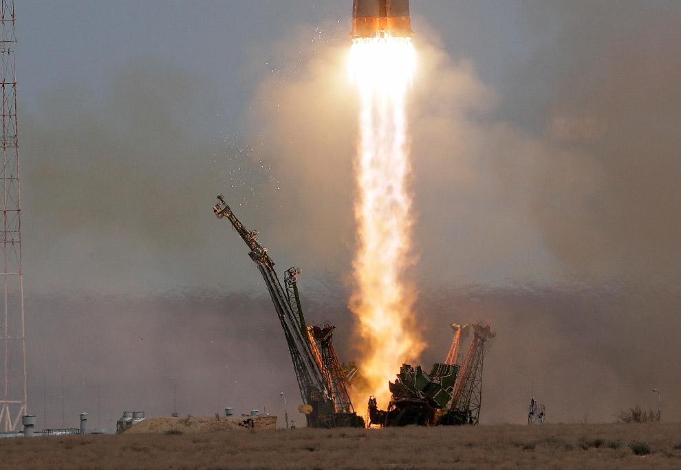 4. Улетел, 20 апреля 2017. Тяньчжоу-1 — первый китайский грузовой космический корабль серии Тян