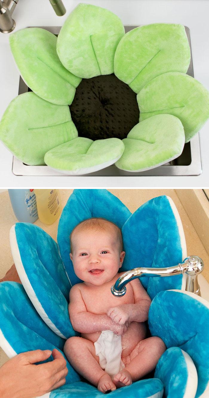 Подушка для купания Bloomingbath.