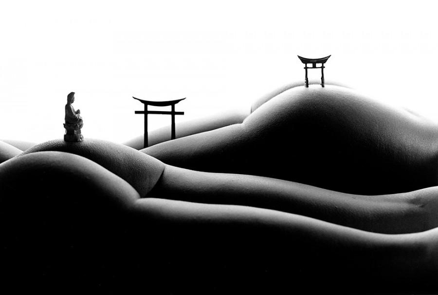 Эротические ландшафты женского тела
