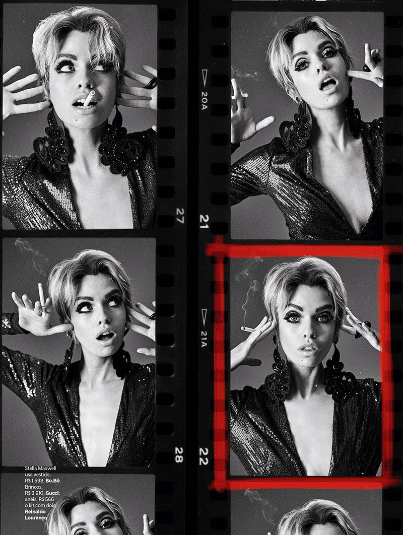 Стелла Максвелл в Vogue Brazil