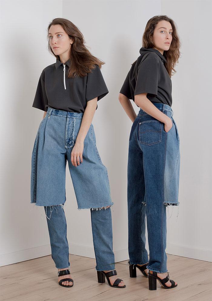 Шорты и джинсы в одном флаконе.