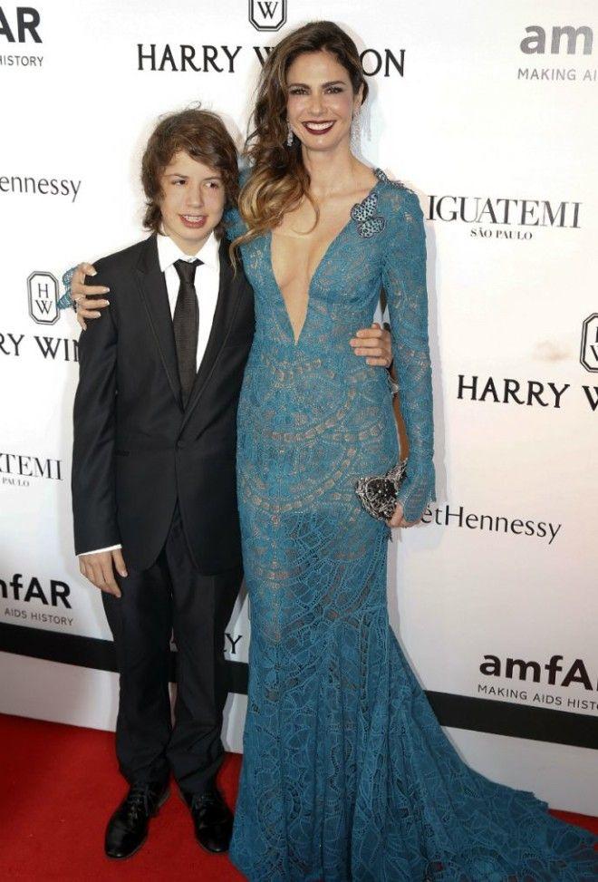 Лусиана Морад с сыном Лукасом Терпение Джерри лопнуло, и она подала на развод, после которого стали