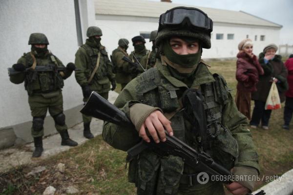 Оккупанты приняли решение провести вКрыму «антитеррористические учения»