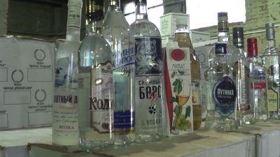 ВИркутске уничтожат 300 тыс. бутылок поддельного алкоголя