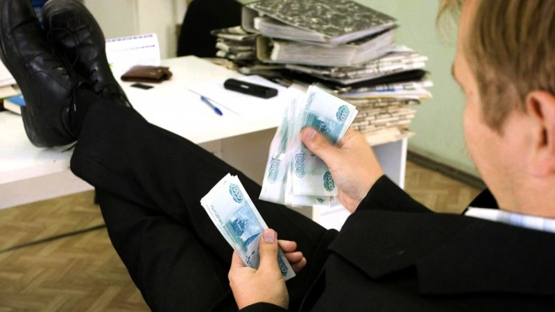 Большинство граждан России назвали неприемлемой коррупцию вовласти