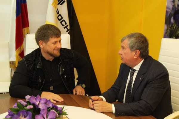 СМИ поведали оконфликте Сечина иКадырова из-за продажи чеченских активов