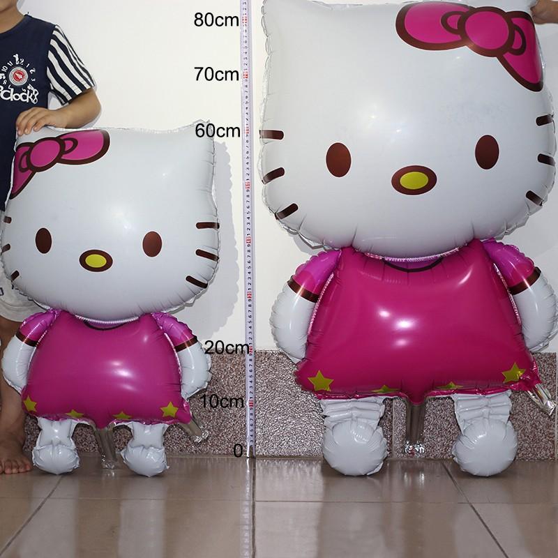 Фольгированный воздушный шар Хелло китти