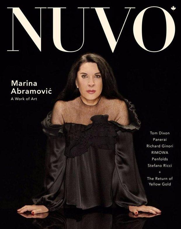 Walk Through Walls: Marina Abramovic for Nuvo Magazine Winter Issue