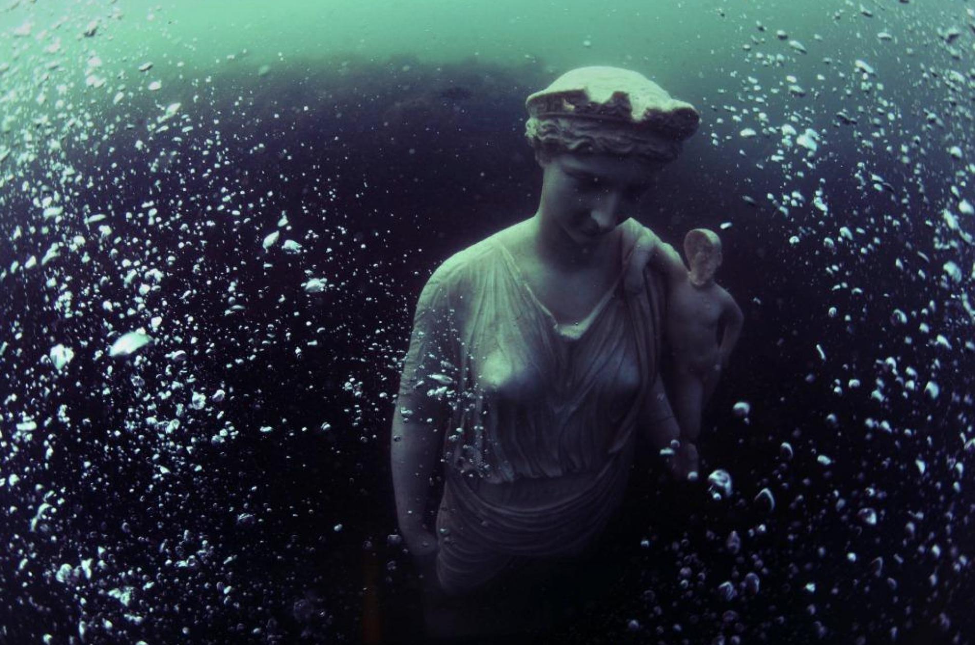 Underwater Archaeology Park of Baia, Pozzuoli, Italy / Photographer : Stefano Mei