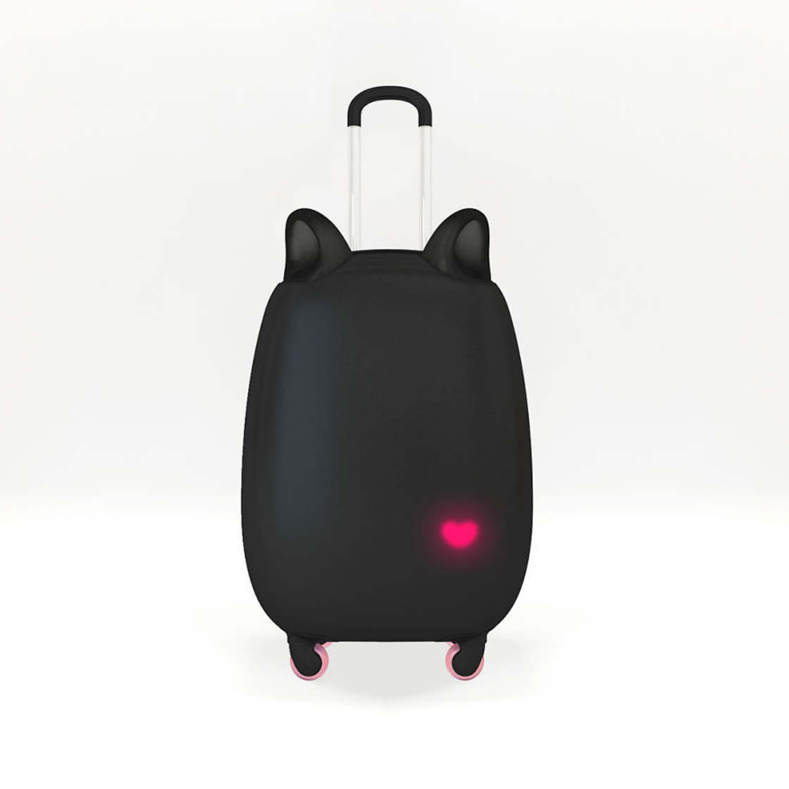 Cat Suitcase - The most adorable suitcase has mobile cat ears