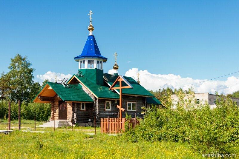 Храм Рождества Пресвятой Богородицы в поселке Пяльма, Карелия