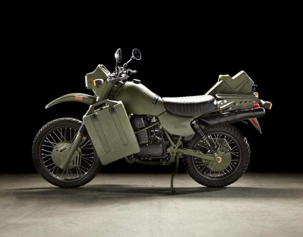 Редкий мотоцикл Harley-Davidson MT500 1999