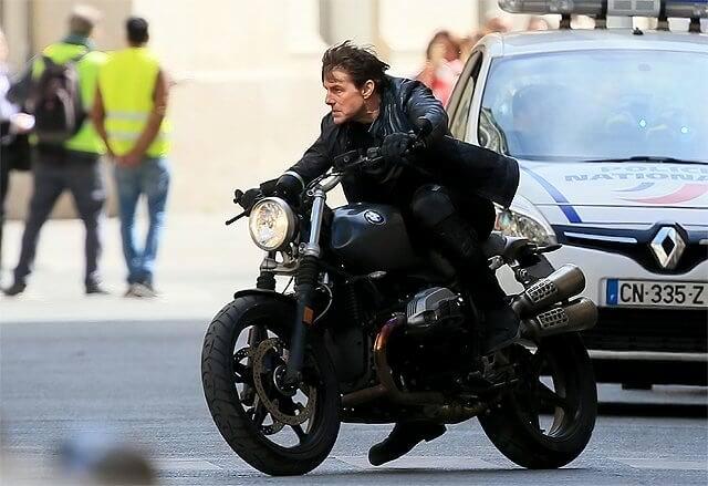 В новом фильме «Миссия Невыполнима 6» будут автомобили и мотоциклы BMW