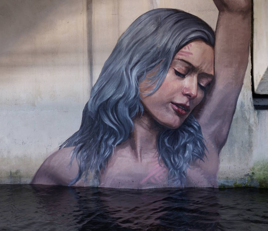New Women Portraits in Unexpected Places by Hula