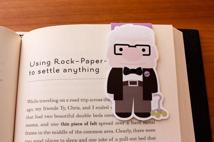 Marcadores de livros criativos