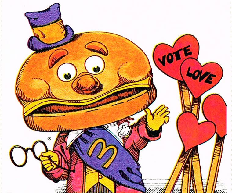 When McDonald's was editing cards for Valentine's Day in 1978 (9 pics)
