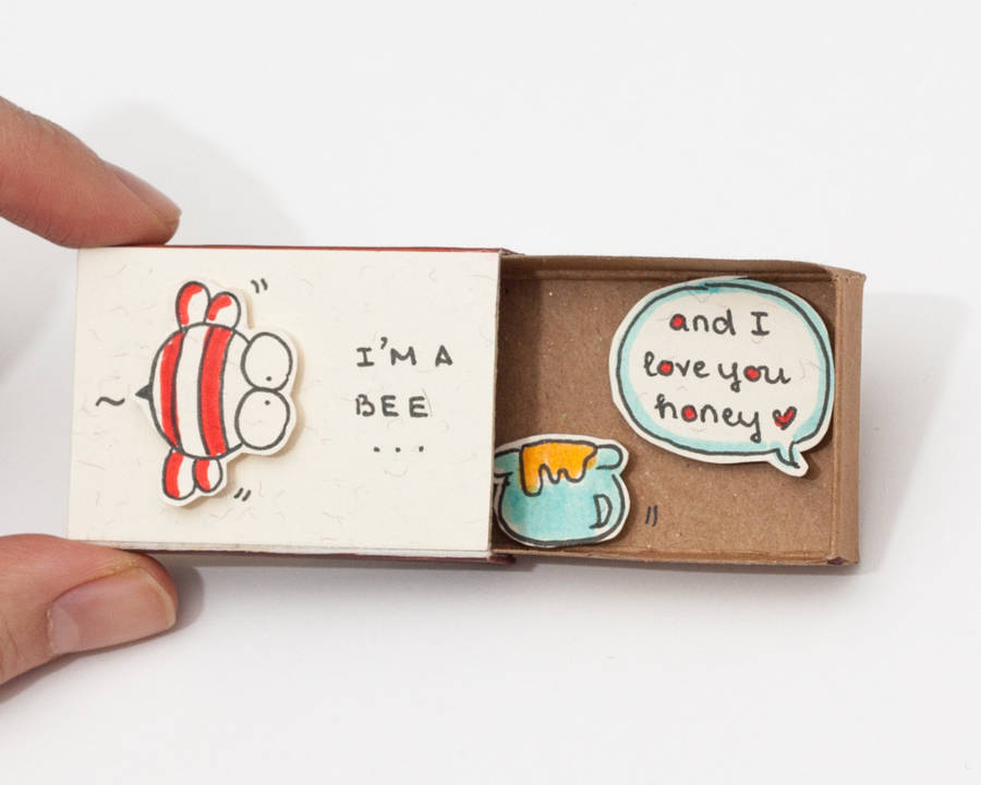 Cute Matchboxes to Profess Love (10 pics)