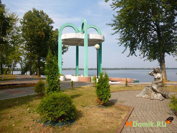 Лепель - живописный городок на берегу озера