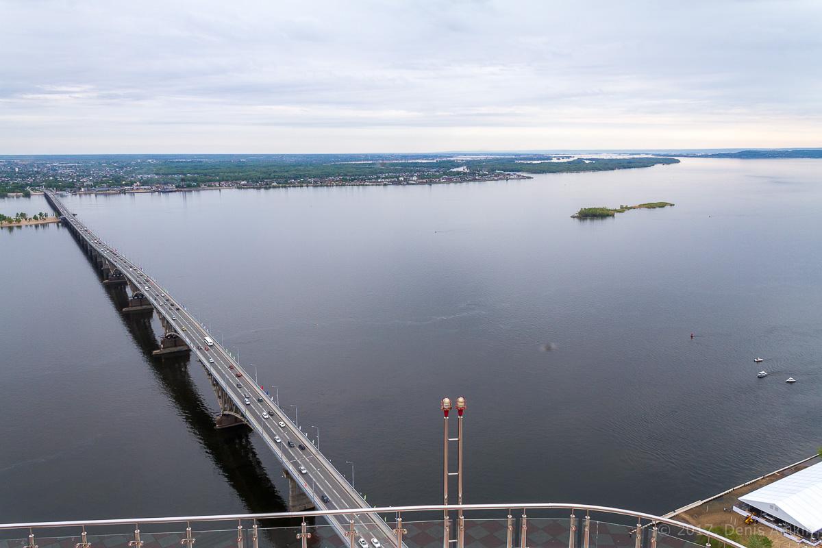 Вид на Саратов с Volga Sky фото 16