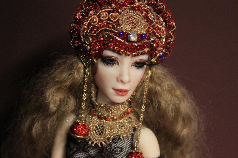 Нереально-реальные куклы Ирины Фоминой