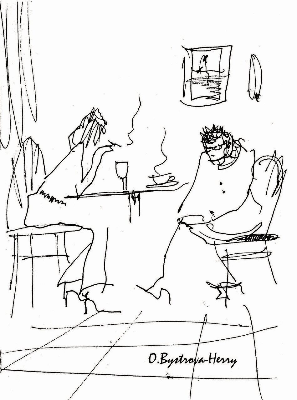 cafe. les deux_